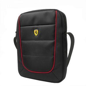 Geanta Ferrari neagra pentru Tableta 10
