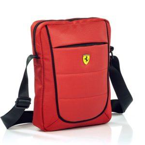 Geanta Ferrari rosie pentru Tableta 10