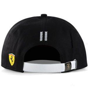 Scuderia Ferrari Flatbrim Cap Kids Black