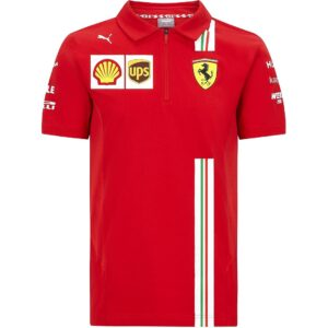 Tricou Polo Scuderia Ferrari Official F1™ Team 2020