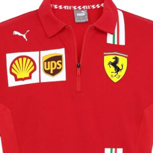 Tricou Polo Scuderia Ferrari Official F1™ Team 2021