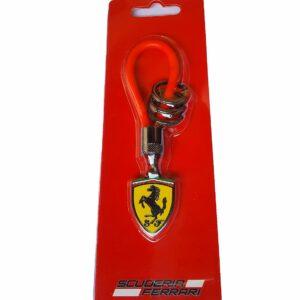 Breloc Ferrari Rubber Strap Red