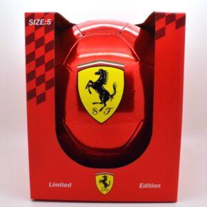 Minge Ferrari roșu metalizat, football official size5