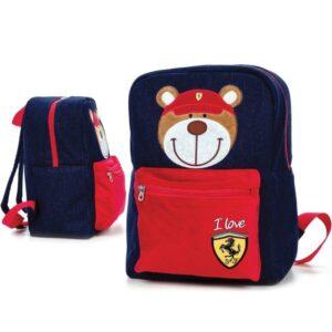Ghiozdan Ferrari Denim pentru copii