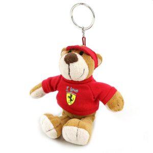 Breloc Ferrari Ursuleț Pluș 14cm