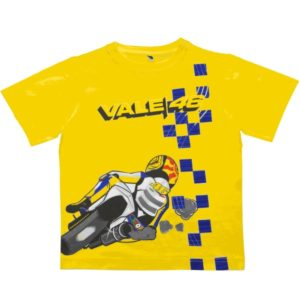 Sharp Bend Kids T-Shirt Yellow
