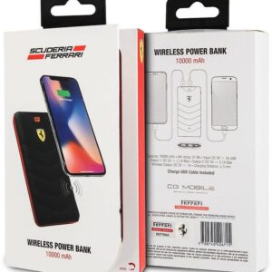 Baterie externa Ferrari wireless power bank