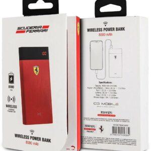 Baterie externa Ferrari wireless power bank rosie