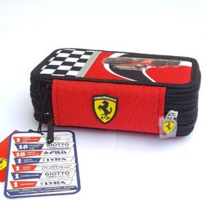 Penar Ferrari cu 3 compartimente dotat complet