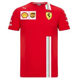 Tricou Leclerc oficial Scuderia Ferrari F1™ Team 2020