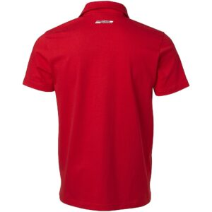 Tricou Ferrari Striped Polo Rosu